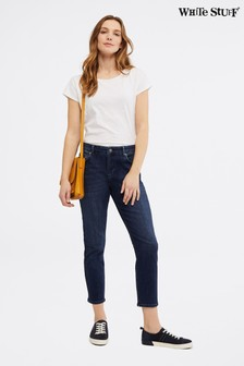 White Stuff Straight Crop Jeans