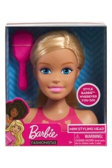 Barbie Mini Blonde Styling Head