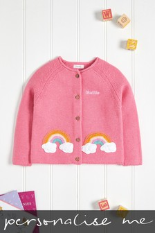 Personalised Rainbow Cardigan