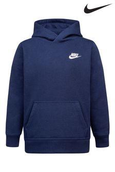Nike Little Kids Navy Club Fleece Overhead Hoody