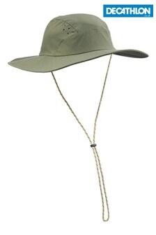 Decathlon Men's Anti-UV Trek 500 Khaki 56-58cm Forclaz Hat