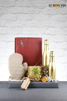 Bubbles And Scrub Prosecco Gift Set by Le Bon Vin