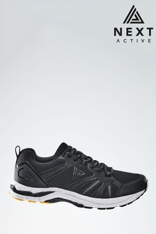 Black V400M Active Running Trainers