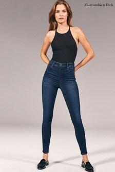 Abercrombie & Fitch Dark Wash Regular Fit Jeans