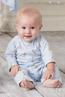 Kissy Kissy Blue Sophie La Girafe Babygrow