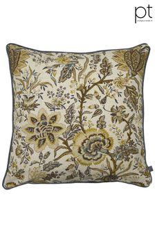 Prestigious Textiles Aspley Ochre Feather Cushion