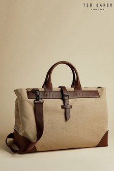 Ted Baker Giante Recycled Canvas Holdall