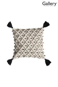 Gallery Direct Colca Diamond Tassel Cushion