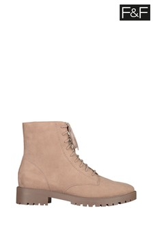 F&F Stone Lace-Up Boots