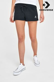 Converse Black Logo Shorts