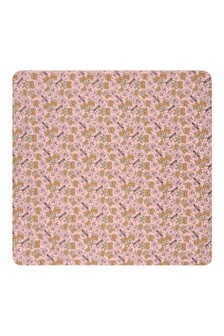 Baby Girls Pink Cotton Teddy Blanket