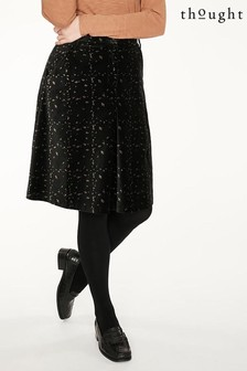 Thought Black Selina Skirt