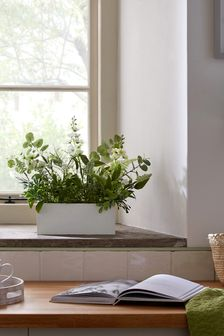 Artificial Floral Window Box