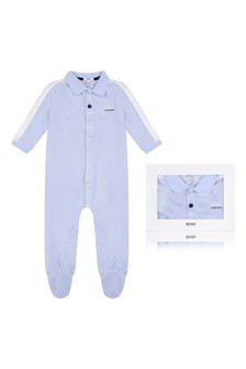 Boys Cotton Babygrow