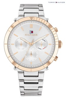 Tommy Hilfiger Gold Plated and Stainless Steel Watch