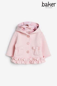 Baker by Ted Baker White Quilted Jacket