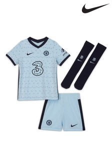 Nike Chelsea Football Club 2021 Little Kids Away Set