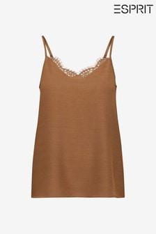 Esprit Brown Women's Cami Top