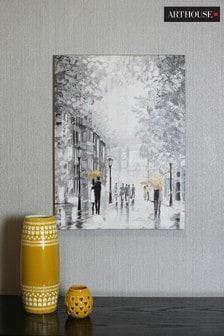 Rainy Manhattan Scene Canvas by Arthouse