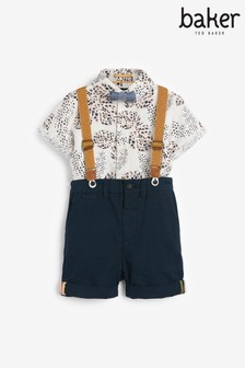 Baker by Ted Baker Shirt and Chino Short Set