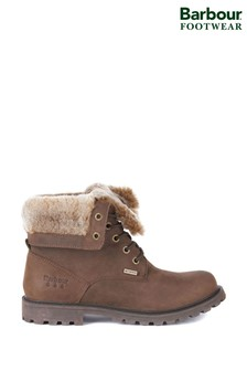Barbour® Hamsterley Lace-Up Faux Fur Lined Boots