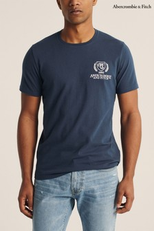 Abercrombie & Fitch Blue Heritage T-Shirt