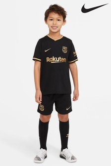 Nike FC Barcelona 2021 Little Kids Away Set