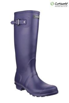 Cotswold Purple Sandringham Wellington Boots