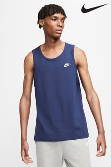 Nike Club Navy Tank Top