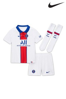 Nike PSG 2021 Little Kids Away Set