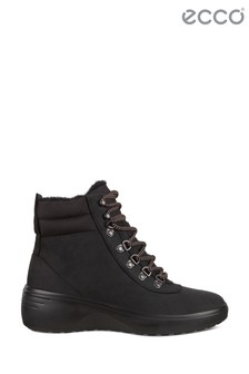 ECCO® Soft 7 Wedge W Hydromax Lace Warm Lined Boots