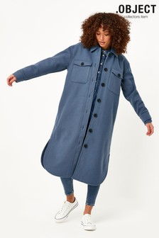 OBJECT Blue Chile Long Jacket