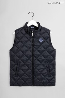 GANT Black Diamond Padded Vest