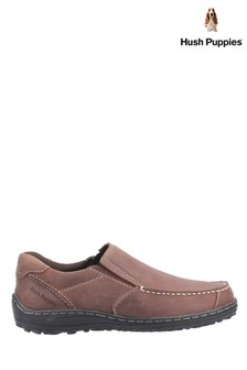 Hush Puppies Brown Thomas Slip-On Loafers