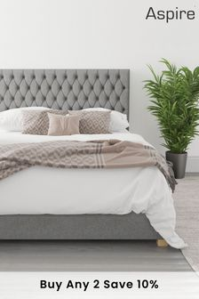 Grey Aspire Monroe Ottoman Bed
