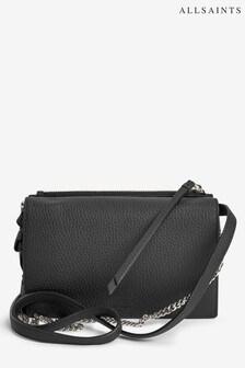 AllSaints Fetch Leather Cross Body Bag