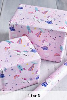 6M Unicorn Wrapping Paper