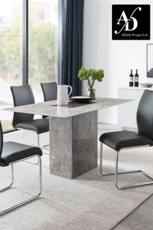 Grey Rimini Dining Table by Alfrank