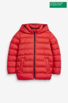 Benetton Hooded Puffer Jacket