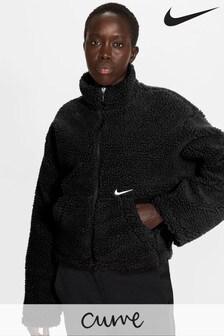 Nike Curve Swoosh Sherpa Jacket