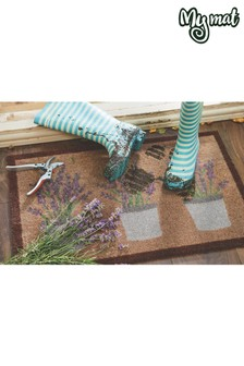 My Mat Lavender Washable And Recycled Non Slip Doormat