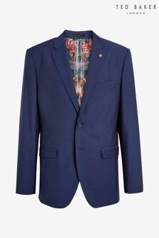 Ted Baker Diaryj Debonair Semi Plain Wool Jacket
