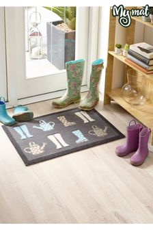 Wellies Washable Non Slip Doormat by My Mat