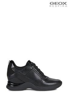 Geox Women's Armonica Black Sneakers