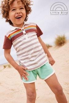 Little Bird Unisex Short Sleeve Polo Shirt