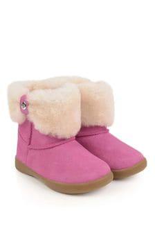 Girls Pink Ramona Boots