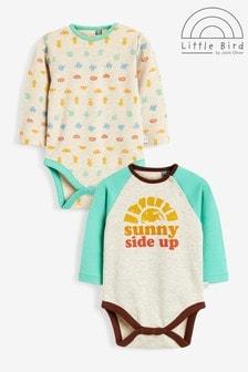Little Bird Long Sleeve Bodysuits 2 Pack