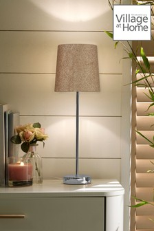 Glitz Desk Lamp Table Lamp by Village At Home