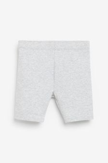Grey Marl Cycle Shorts (3-16yrs)