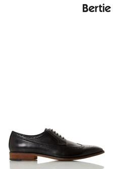Bertie Starlings  Black Leather Chisel American Brogue